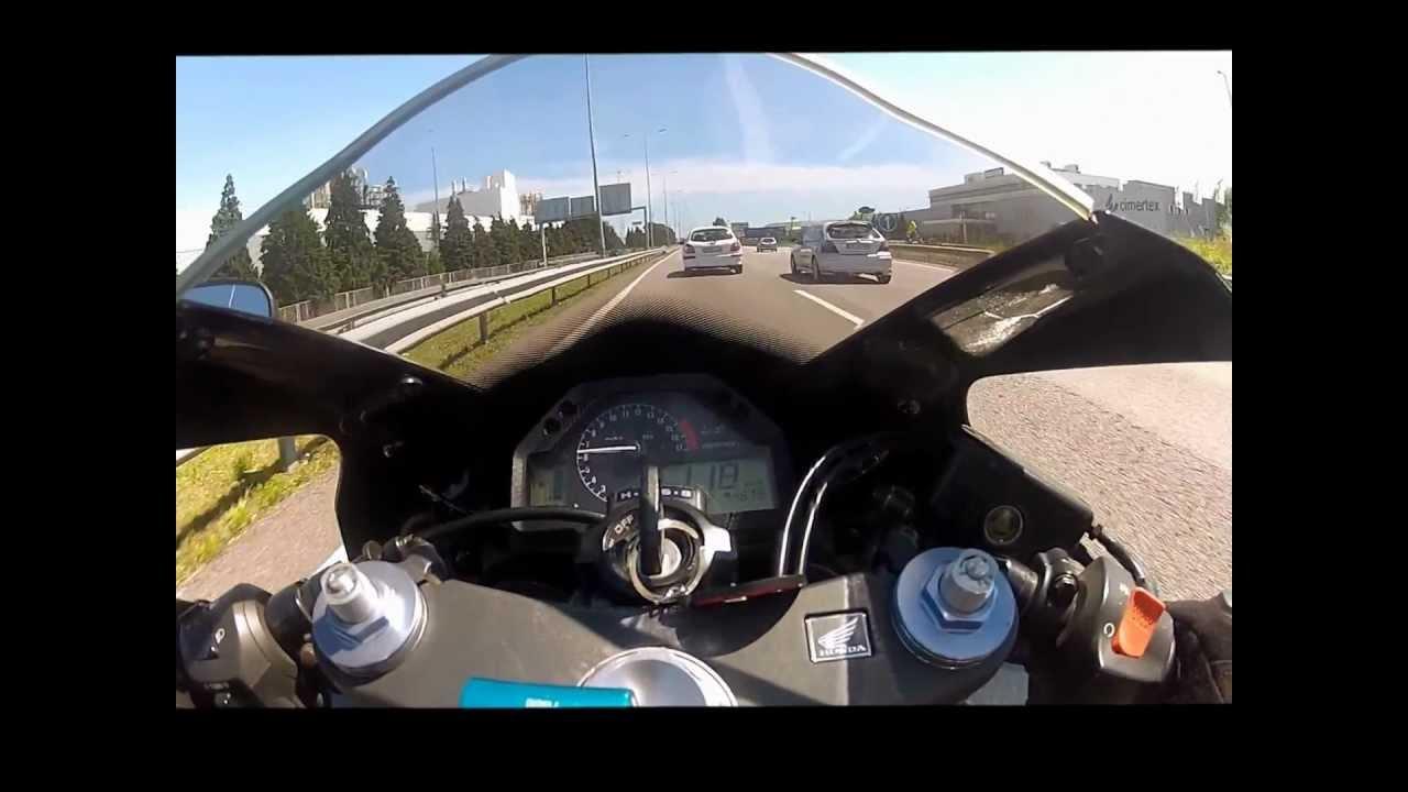 03 600rr top speed