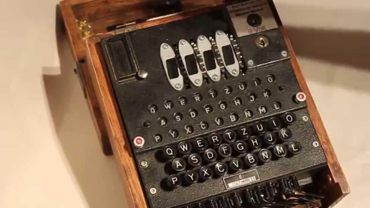 replica enigma machine
