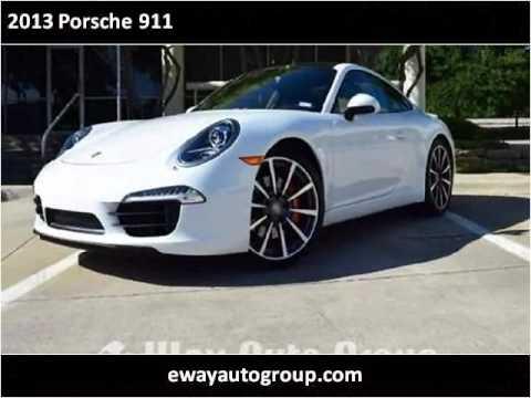 video:2013 Porsche 911 Used Cars Carrollton TX