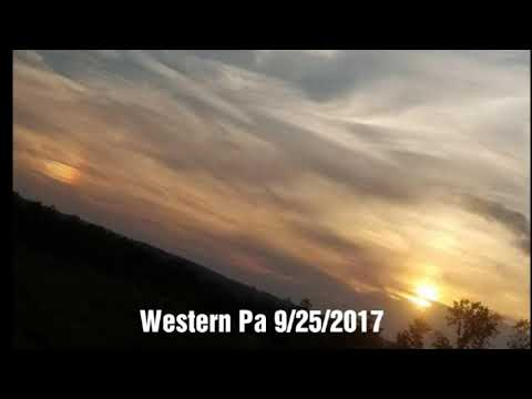 Planet X Nemesis System:24th/25th Sept 2017 Massive planetary body changing the Moon Blood Red