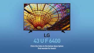 LG 43UF6400 4K UHD Smart LED TV - 43