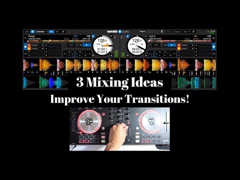 DJ Transitions | 3 Beginner Mixing Ideas