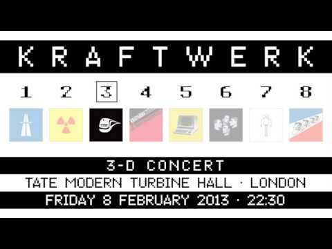 Kraftwerk - Tate Modern Turbine Hall, London, 2013-02-08