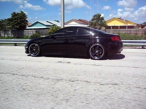 2006 Infiniti G35 Coupe Black On Back Part 5 Youtube