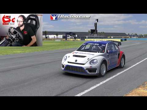 Test VW Beetle RallyCross | Daytona Version Rallycross