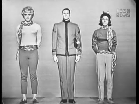 To Tell the Truth - West Point drag actor; PANEL: Martin Gabel; HOST: Robert Q. Lewis (Mar 4, 1963)