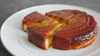 カラメルバナナケーキ |cook kafemaruさんのレシピ書き起こし