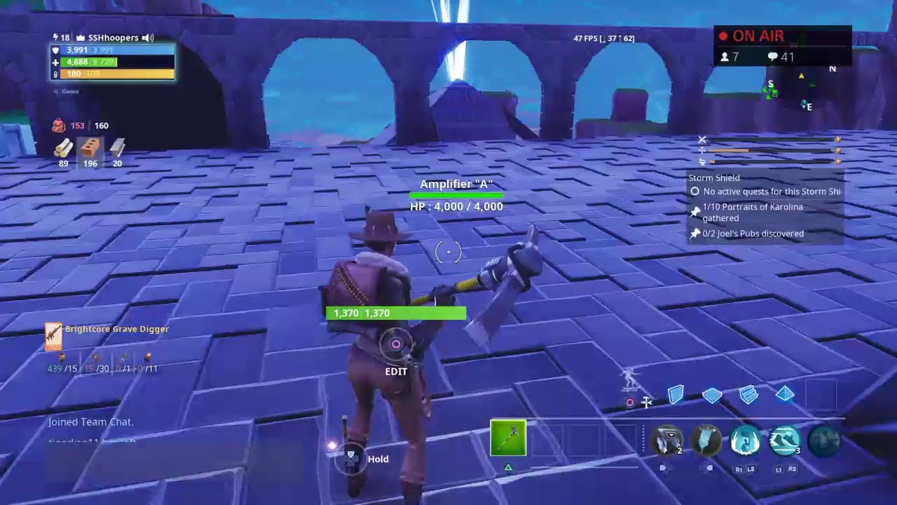 Fortnite Saved The World Live Trading And Road To 500 Subs Youtube