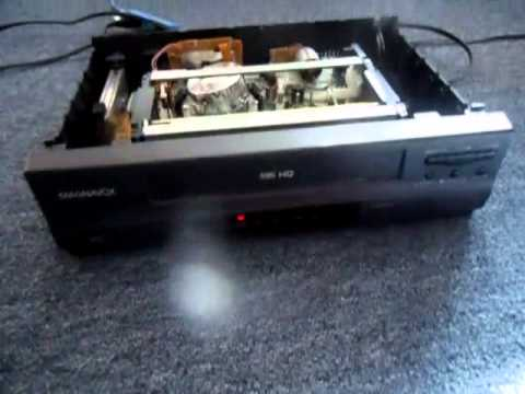 sharp vcr troubleshooting and repair