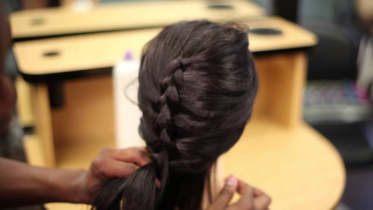How To French Braid A Wig : Hair Styling & Wig Tips