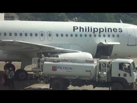 Philippine Airlines & Petron Aviation Fuel at Tagbilaran Airport Bohol Philippines