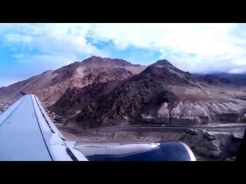 Ladakh Adventure Day 02.01 - Delhi  GoAir flight to Leh
