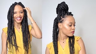 HOW TO: BIG BRAIDS IN 2 HOURS | Protective Style