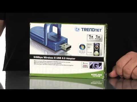 BuyTV Spotlight - Trendnet 802.11G Wireless USB 2.0 adapter TEW-424UB