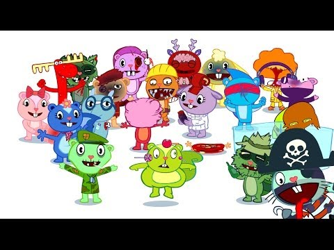 Dumb Ways to Die - Happy Tree Friends Edition