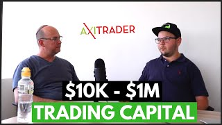 Get MORE CAPITAL To Trade Forex! - Michael Berman   Trader Interview