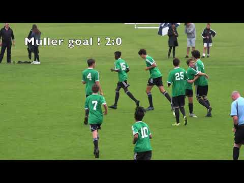 Metro U15 Onehunga Sports FC v Eastern Suburbs FC 4:1 15th April 2018