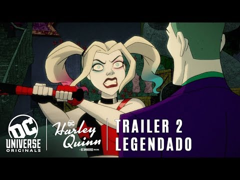 Harley Quinn • Trailer 2 Legendado