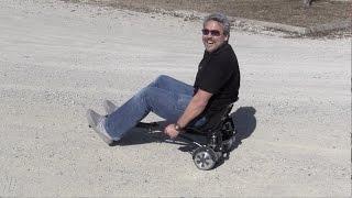 Transforma tu Scooter en un Go Kart Hoverkart