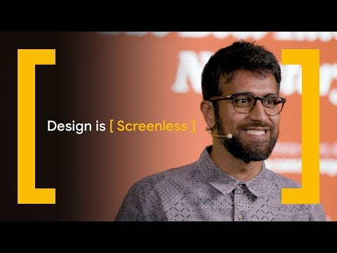 Design Is [Screenless] — Designing for a World Without Screens