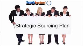3 Reasons to use Strategic Sourcing Planning