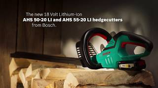 видео Кусторез Bosch AHS 50-16