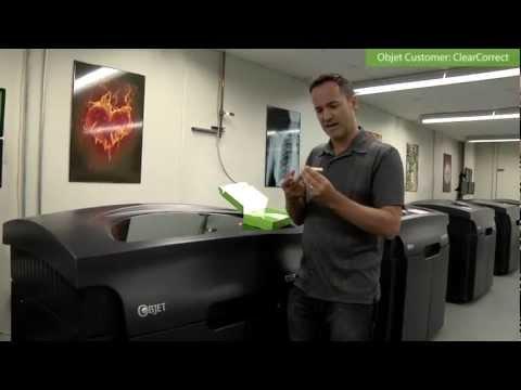 A New Era in Digital Orthodontics | ClearCorrect & Objet 3D Printers!