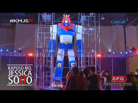 Kapuso Mo, Jessica Soho: The giant Voltes V statue