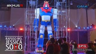 Kapuso Mo, Jessica Soho: The giant Voltes V statue