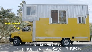 I Live In A Box Truck | The New Homesmiths | Apartment Therapy