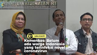 Kemenkes : Indonesia negatif novel coronavirus
