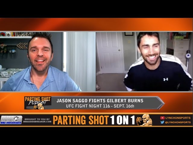 UFN 116's Jason Saggo talks Gilbert Burns matchup, layoff & Arrested Development