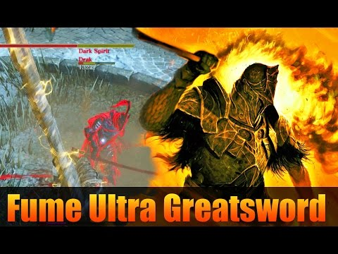 Dark Souls 3: Fume Ultra Greatsword PvP - First Time Using I
