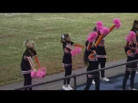 LaFollette Middle School cheer from TheVolunteerTimes.com