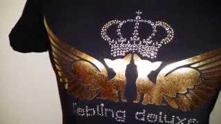"""Liebling deluxe - Strass-Shirt """"Diamonds"""""""