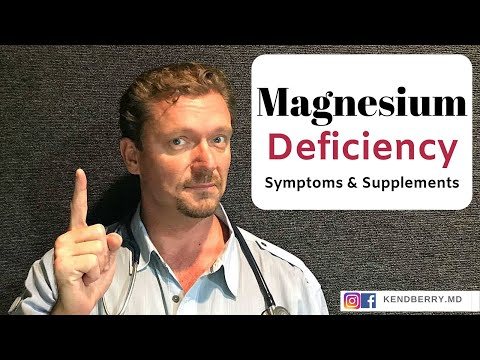 Magnesium Deficiency: Symptoms And Supplements - 2019