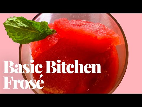 Easy Homemade Frosé with Basic Bitchen's Joey Skladany