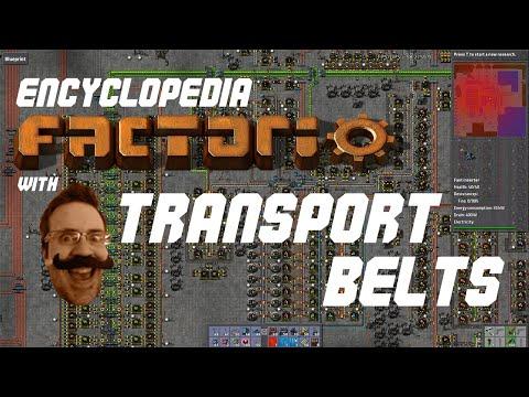 Encyclopaedia Factorio - Transport Belts, Splitters and Underground Belts