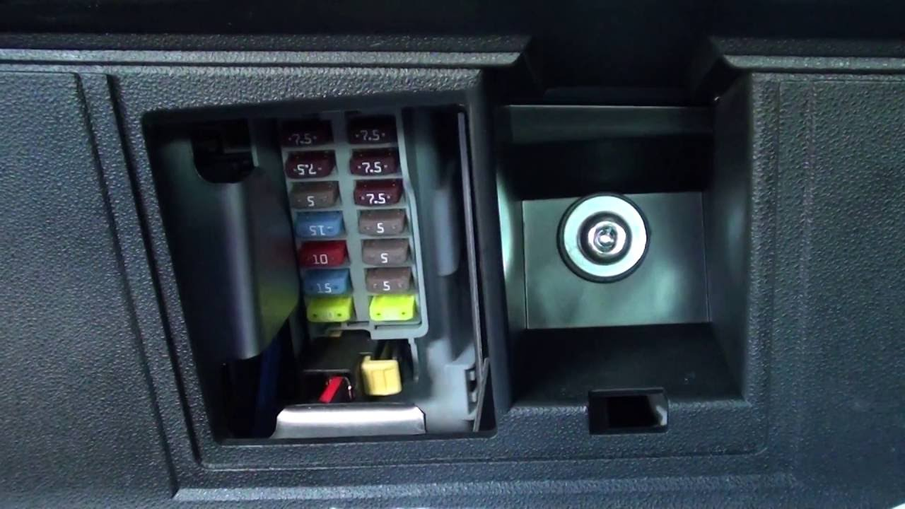 Fiat 500 Interior Fuse Box Location  YouTube