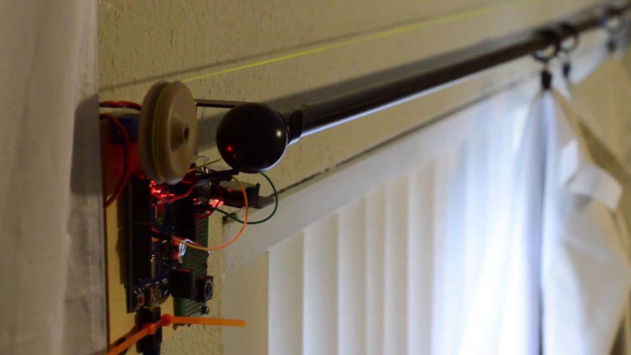 Perfect Arduino   Automatic Curtain Puller
