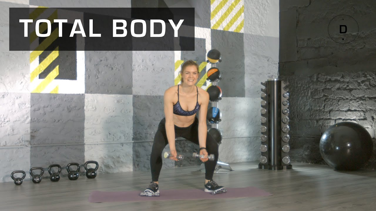Fitness Master Class - Total Body (30 min) - Lucile Woodward - YouTube 46424b5ae0e