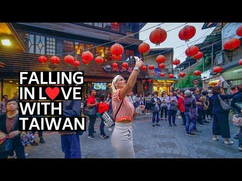 FALLING IN LOVE WITH TAIWAN (台灣) | TAIPEI DAY TRIP JIUFEN