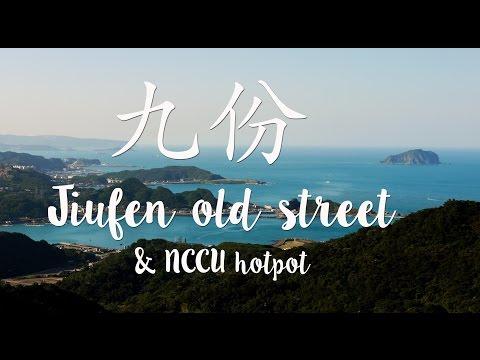 Jiufen Old Street & NCCU hotpot
