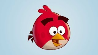 How To Draw ANGRY BIRDS - Easy Red Angry Bird Step by Step Drawing Tutorial by Weekend Art