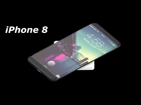 iPhone 8 With New Design & Wireless Charging