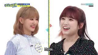 Guest: iz*one - eunbi, sakura, hyewon, yena, chaeyeon, chaewon, nako, minjoo, hitomi, yuri, yujin, and wonyoung