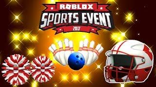🔴 Roblox (LIVE) ROBLOX SPORTS EVENT 2017!!!!!