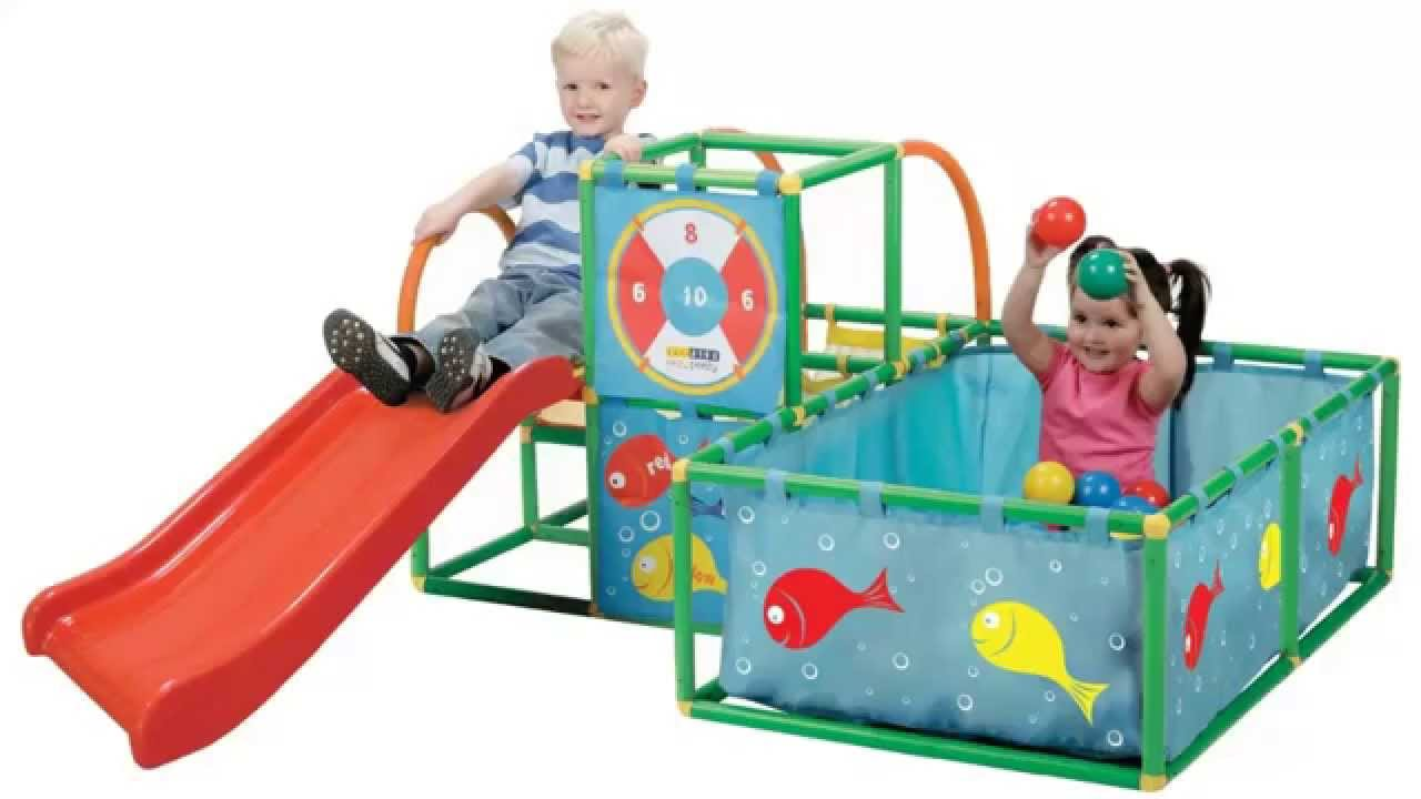 ... Active Play 3 In One Gym Set Review  Kids Outdoor Toys Reviews  B007GAT0JE   YouTube