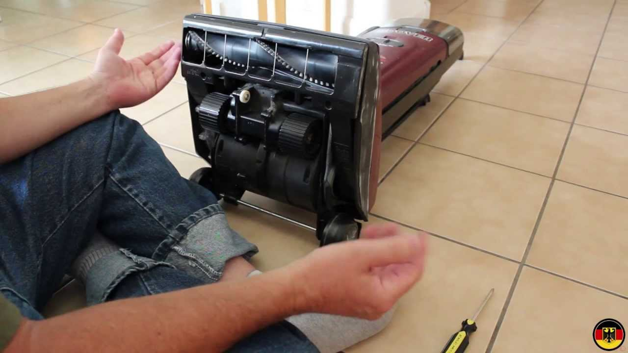 Hoover Upright Vacuum Belt Replacement Youtube