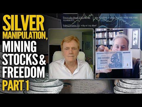 Silver Manipulation, Mining Stocks & Freedom: Mike Maloney & David Morgan (Part 1)